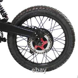 Electric Bicycle Ebike 72V 5000W FC-1 Stealth Bomber MountainBike & 35AH Battery