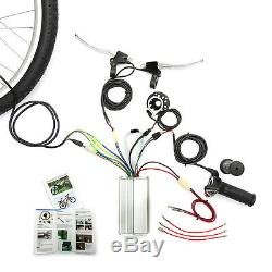 Electric Bicycle Front Wheel Conversion Kit 48v 1000w 26'' 26 Inch Wheel Bike