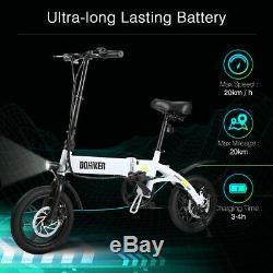 Electric Bike E-Bike Foldable Aluminum Moped Bicycle Cycling 36V 250W Max 25Km/h