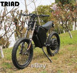 Electric Bike High Power Most powerful 72v 12000w 12kW ebike with 48ah battery