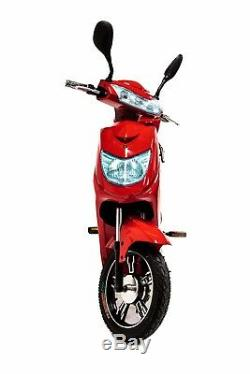 Electric Bike Moped Scooter with 48V Lithium Battery! 250W Road Legal 2019 Model