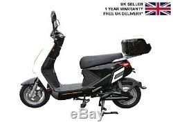Electric Bike Scooter Moped Style with Rechargeable Battery 250W Road Legal UK