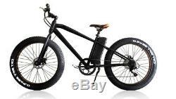 Electric EBike 250W 36V 10Ah Lithium battery 27 Fat tyre mountain bike