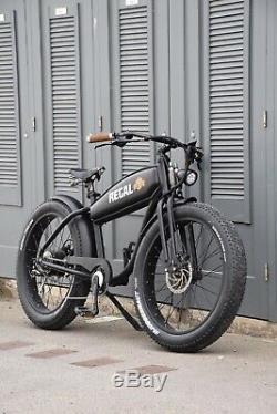 Electric Fat Bike Special Edition Regal Electric Bikes Pre-Order
