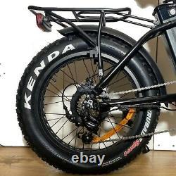 Electric Foldable Bike 20 E-Bike E-Folding Fat Tyre 250W 36V UK Legal Shimano