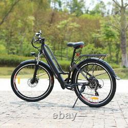 Electric Mountain Bike E-Bike 26inch Women Ladies E-Bike 250W High Speed Ebike
