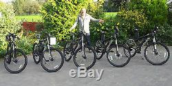 Electric Mountain Bike Wing Black Stallion 1000w 48v 1700w 52v 17.5ah 40mph+