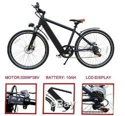 Electric bike EBike 250W 36V 10Ah Lithium Battery 27.5 slim tyre mountain EBike