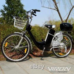 Elektrofahrrad 250 Watt E-Bike 26 Zoll Pedelec Fahrrad mit Motor Citybike 36 V