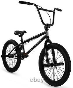 Elite 20 BMX Stealth Bicycle Freestyle Bike 1 Piece Crank Black NEW 2020