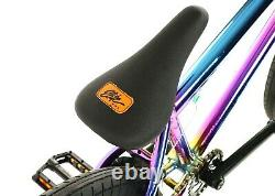 Elite BMX 20 Bike Destro Freestyle Oil Slick Neo Chrome 3pc Crank