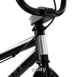 Elite BMX 20 Bike Stealth Freestyle Black Red NEW 2021