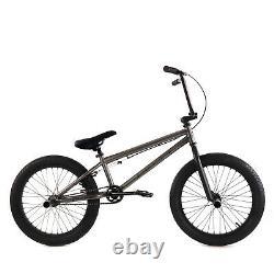 Elite BMX 20 Bike Stealth Freestyle Gunmetal Grey NEW 2021 1-Piece