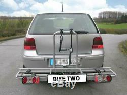 Eufab Bike Two Rack for 2 Cycle Vehicle Rear Carrier Towbar Tow Bar