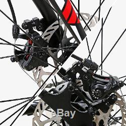 Eurobike Mens Road Bike 54cm Shimano 21 Speed Disc Brake Cycling Bicycle 700C