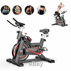 Exercise Spin Bike Home Gym Bicycle Cycling Cardio Fitness Training Workout Bike