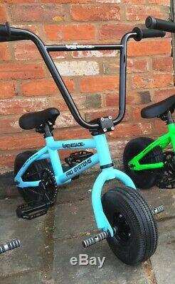 FRO Systems Renegade Stunt Mini BMX Bike SKY BLUE ADULT AND KIDS