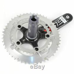 FSA SL-K Light BBright Carbon Road Bike Crankset 50/34 10 Speed 172.5mm //Silver