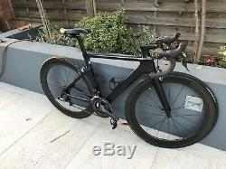Fantastic Condition Black Canyon Aeroad CF SLX 8.0 Di2 XS Aero Road Bike