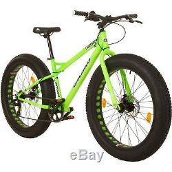 Fat Bike 26 Zoll MTB Galano Fatman Fatbike 4.0 fette Reifen Fahrrad Mountainbike