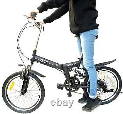 Foldable Bicycle 20 Inch Suspension New Design Quality Product 6 Speed