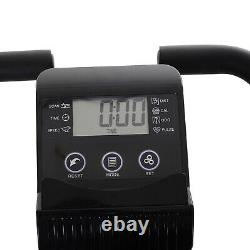 Folding Exercise Bike Upright Cycling Magnetic withResistance Band