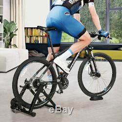 Folding Indoor Bike Bicycle Magnetic Turbo Trainer Exercise Fitness Training UK