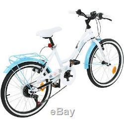 Frozen Kinderfahrrad Mädchen Fahrrad 20 Zoll Disney Kinderrad ab 6 Jahre