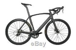 Full Carbon 700C Road Bike 11s Disc brake 56cm AERO Frame Wheels Racing Bicycle