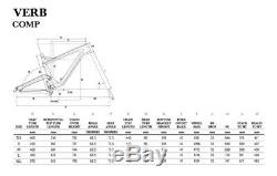 GT Verb Comp 27.5 Full suspension MTB Shimano Mountain Bikes Size L Blue