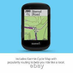 Garmin Edge 530 GPS Cycling/Bike Computer with Mapping Dynamic Performance