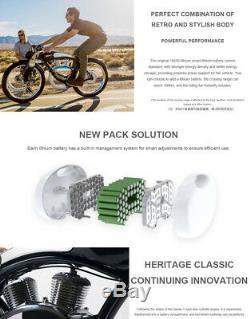Germany Retro 48V 26 Inch Fashion Munro 2.0 Electric Bicycle 48 Volt E Bike
