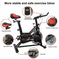 HEAVY DUTY Indoor Workout Machine Home Gym Exercise Bike Cycle Trainer Fitness