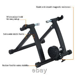 HOMCOM Bike Bicycle Magnetic Turbo Trainer Exercise Fitness Training Indoor
