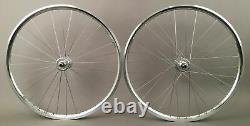 H Plus Son Archetype Silver Rims fixed gear Track bike SingleSpeed Wheelset