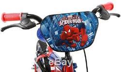 Halfords Spiderman Kids Boys Bike 14 Inch Wheels Calliper Brakes Stabilisers