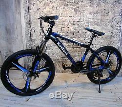 HardRoxX 24 Mountain Bike Lightweight Aluminium Frame Front Suspension Boy Men