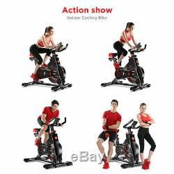 Heavy Duty Exercise Bike Fitness Cycling Cardio Gym Home Workout Indoor Machine