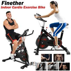 Home Exercise Bike 6kg Flywheel Belt Cycling Indoor GYM Cardio Fitness Training