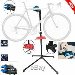 Home Mechanic Bike Bicycle Cycle Repair Maintenance Work Stand Rack Blue UKDC
