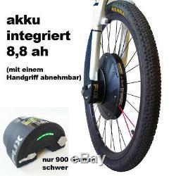 I-FUX E-Bike / Pedelec Vorderrad Umbausatz mit akku 340 Watt Front Motor 27,5