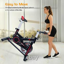 Indoor Excercise Bike Cycle Pedal Fitness Cardio Training Gym Home Sport Upright