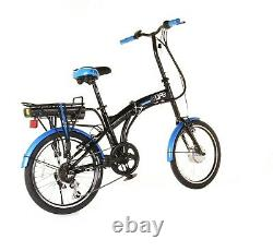 Infusion Folding Electric Bike 20 Wheels, 6 Speed, Power Assisted eBikes. Co. Uk