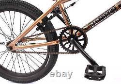 KHE BMX Fahrrad BARCODE FS 20 Zoll copper kupfer braun nur 11,3kg