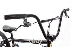 KHE BMX Fahrrad COSMIC schwarz 20 Zoll mit Affix Rotor nur 11,1kg