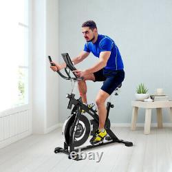 KUOKEL Exercise Bike Adjustable Indoor Cycling Bike 13lbs Flywheel Home Workout