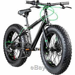 Kinderrad 20 Zoll Fatbike Mountainbike Galano Fatman 4.0 Fat Bike Kinderfahrrad