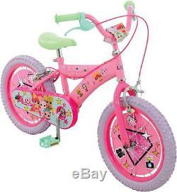 LOL Surprise Kids Girls Bike 16 Wheel Childrens Bicycle Steel Frame 5+ Years