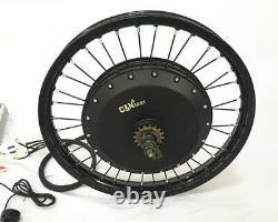 Leili 12000with72v Electric Bike Ebike Fat Tire Regular Tire Conversion Kit MOTOR