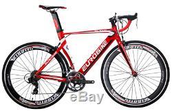 Lightweight Aluminium Road Bike 700C Commuter Cycling Bicycle 14 Speed 54cm Mens